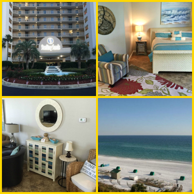 Beautiful vacation rental condo right on the beach